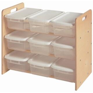 Little Colorado Plywood Nine-bin Toy Organizer