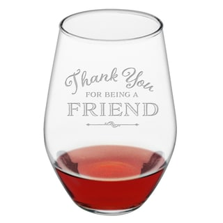 Thank You Stemless Wine (Set of 4)