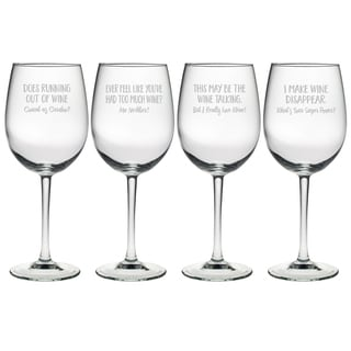 Uncorked Assortment Wine Glass (Set of 4)