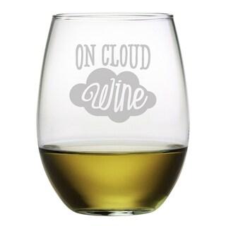 On Cloud Wine Stemless Wine (Set of 4)