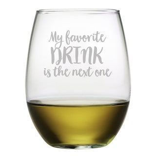 The Next One Stemless Wine (Set of 4)