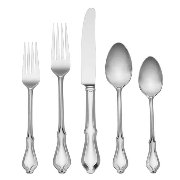Reed & Barton Hampden Stainless Steel 5-piece Place Setting