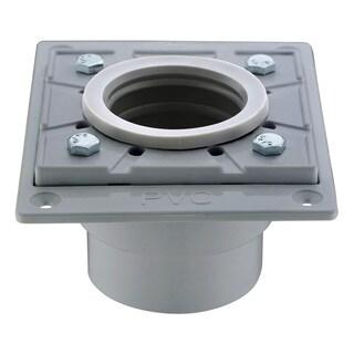 Dawn Grey PVC Square Shower Drain Base