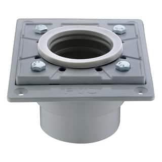 Dawn Grey PVC Square Shower Drain Base|https://ak1.ostkcdn.com/images/products/14356632/P20932329.jpg?impolicy=medium