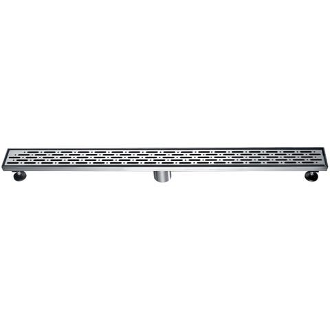"Dawn® Rio Orinoco River Series - Linear Shower Drain 36""L"