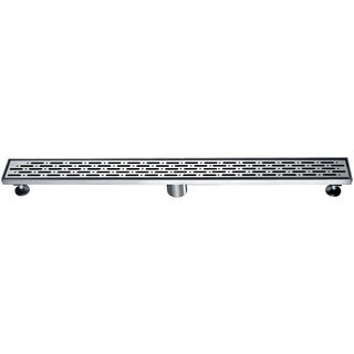 Dawn Rio Orinoco River Series 32-inch Stainless Steel Linear Shower Drain