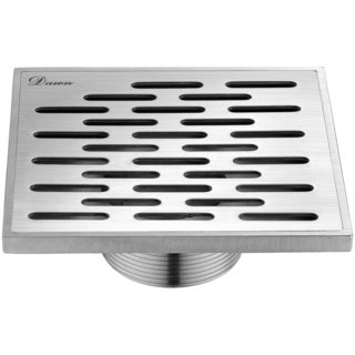 Dawn Yangtze River Series 5-inch Threaded Square Shower Drain
