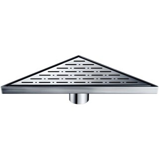 Dawn Rio Orinoco River Series Stainless Steel Triangle Shower Drain