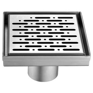 "Dawn® Rio Orinoco River Series - Square Shower Drain 5""L"
