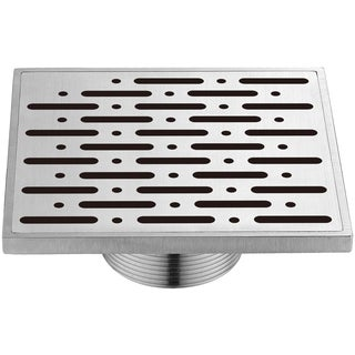 Dawn Rio Orinoco River Series 5-inch Threaded Square Shower Drain