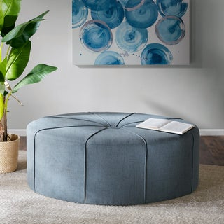 Link to Madison Park Aberdeen Oval Ottoman Similar Items in Ottomans & Storage Ottomans