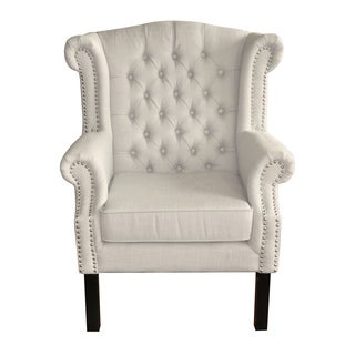 HomePop Tufted Wingback Chair