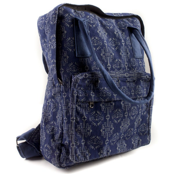Handmade Mayan Sunrise Boho Backpack (Nepal)