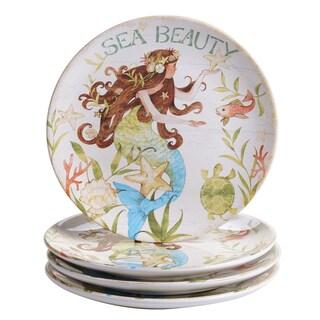 Certified International Sea Beauty Ceramic 9-inch Dessert Plates (Case of 4)