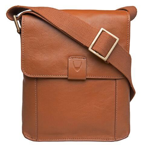 Hidesign Aiden 01 Small Unisex Leather Crossbody Messenger Bag