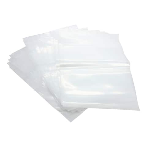 Reloc Zippit Clear Polyethylene 8-inch x 10-inch 4-mil Recloseable Bag (Case of 1,000)
