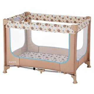 Dream On Me 'Zodiak' Coffee/Blue Plastic Portable Playard
