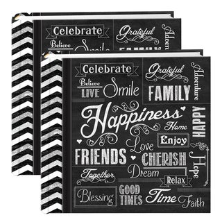 Pioneer Chalkboard 200-pocket Photo Albums (Set of 2)