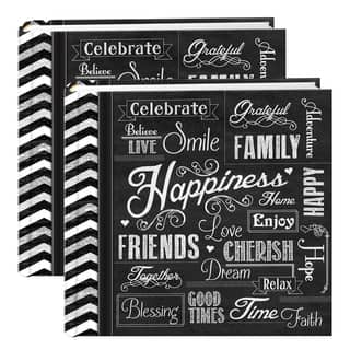 Pioneer Chalkboard 200-pocket Photo Albums (Set of 2) https://ak1.ostkcdn.com/images/products/14356808/P20932474.jpg?impolicy=medium