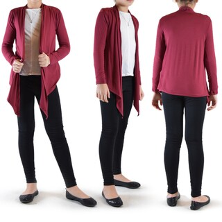 Dimamit Girls Rayon Flyway Open Cardigan (More options available)