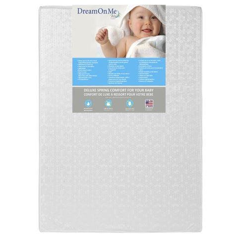 Dream On Me Nesti Play Yard Inner Spring Mattress - White