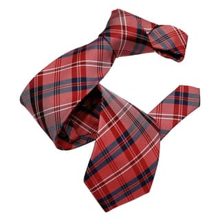 Dmitry Men's Red Italian Silk Patterned Tie|https://ak1.ostkcdn.com/images/products/14356907/P20932560.jpg?impolicy=medium