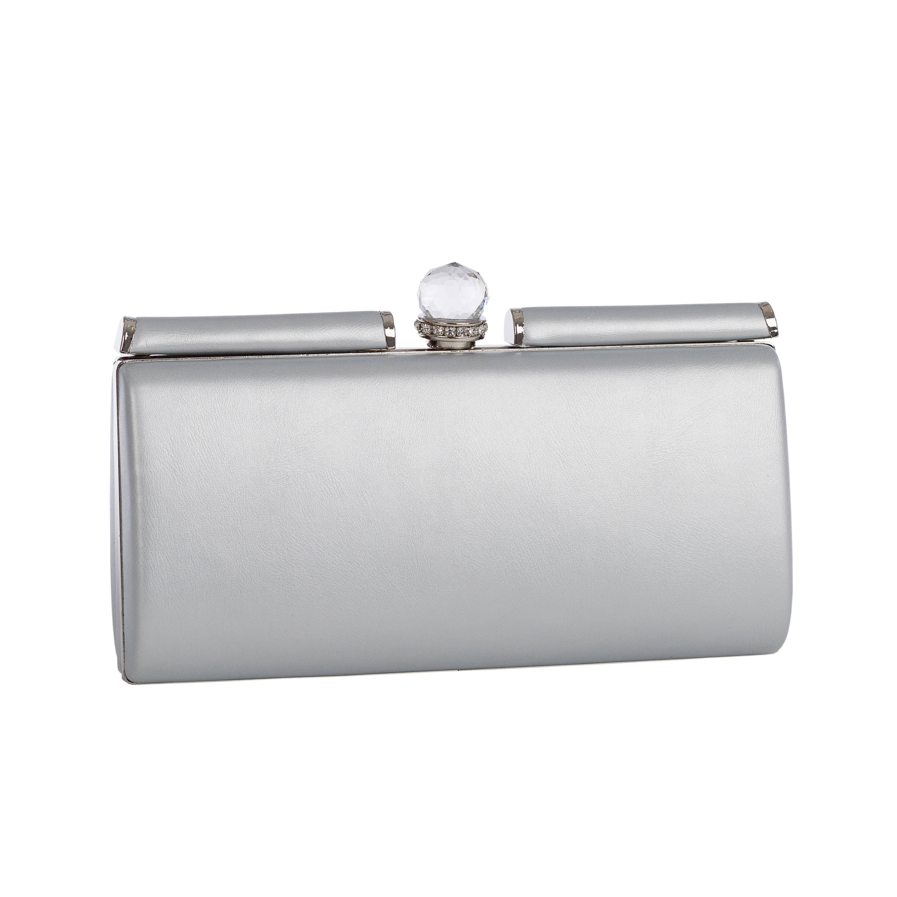 Silver Clutches Evening Bags Online At Our Best By Style Deals