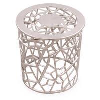 Silver Filigree Metal Table JEWEL