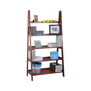 Wood 42 Inches A-Shelf in Cherry Finish