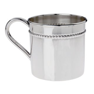 Reed & Barton Sterling-silver Classic Bead Baby Cup