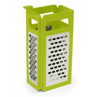 Joseph Joseph Green Stainless Steel 4-in-1 Fold-Flat Grater Plus