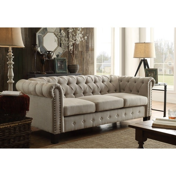 Sofas And Couches On Sale: Shop DG Casa Southampton Beige Sofa