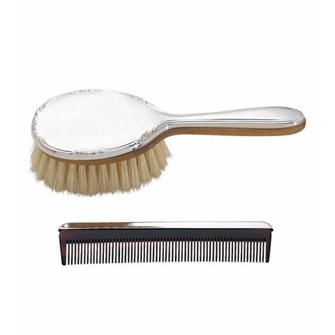 Reed & Barton Carolina Sterling Silver Girl's Brush and Comb Set