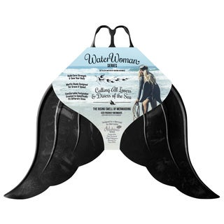 Mahina Mermaid Merfin Water Woman Series Black Swimming Fin