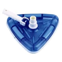 Smart Pool Blue Plastic Deluxe See-through Vacuum Head