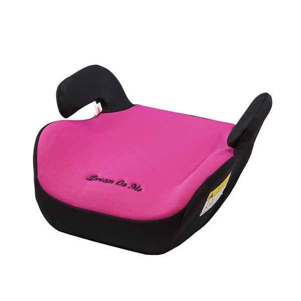 Dream On Me Black/Pink Coupe Booster Car Seat