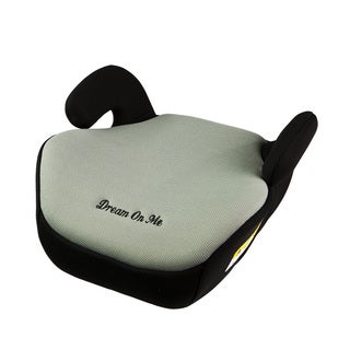 Dream On Me Grey Plastic Coupe Booster Car Seat