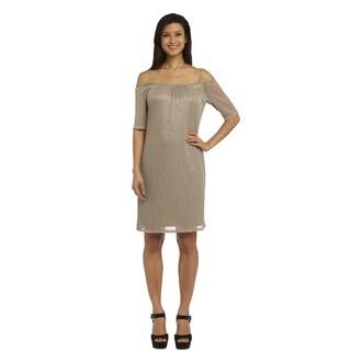 R M Richards Cold Shoulder Dress