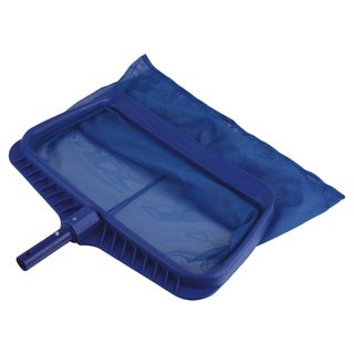 Smart Pool Blue Plastic Pro Series Deep Leaf Skimmer