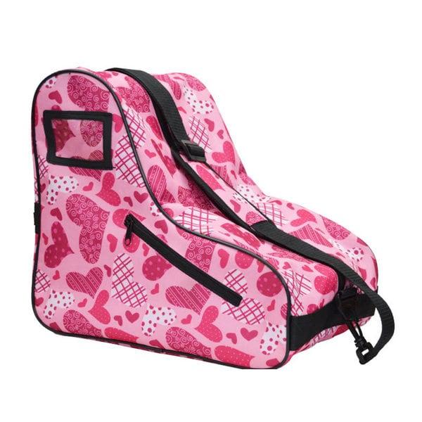 EPIC Limited Edition Black Nylon Heart Skate Bag