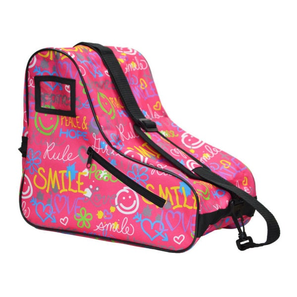 EPIC Smile Pink Nylon Limited Edition Skate Bag