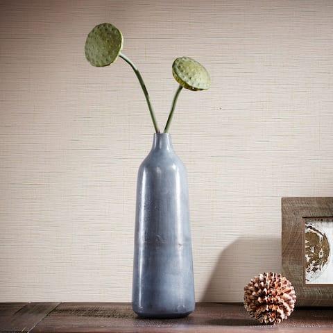 INK+IVY Bracken Blue/ Grey Moddish Decorative Vase-Large