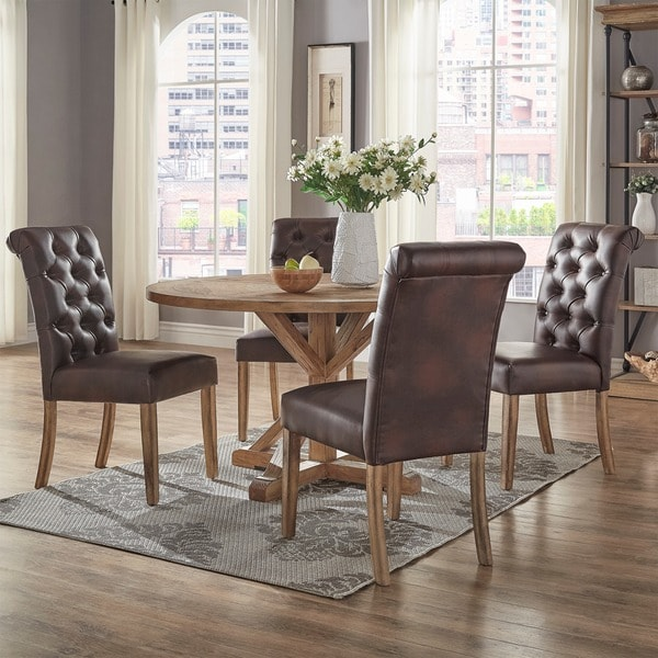 dining table and chairs amazon uk room bench chair sets rustic base round set signal hills