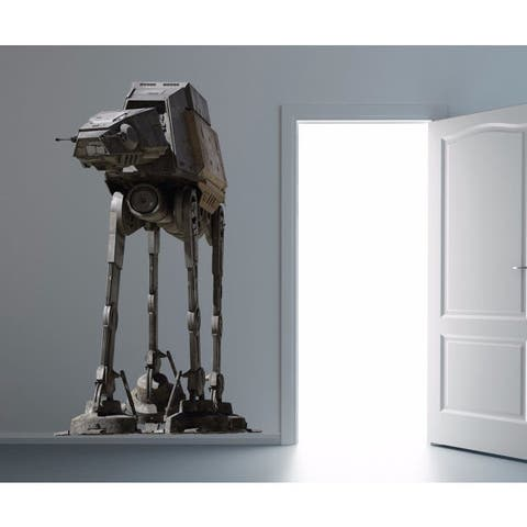 Full Color AT-AT Full Color Decal, Star Wars Full color sticker, wall art, wall Sticker Decal size 48x76