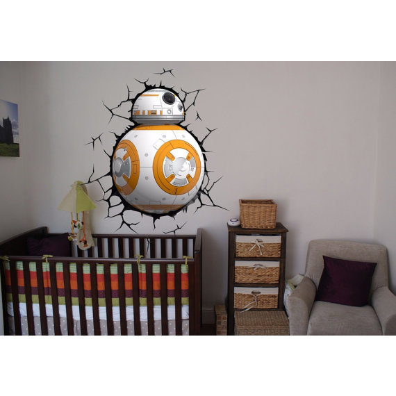 Shop Full Color Bb 8 3d Full Color Decal Star Wars 3d Full Color