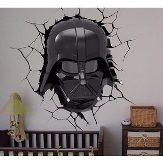 Full Color Darth Vader Full Color Decal, Star Wars Full color sticker, wall art Sticker Decal size 2