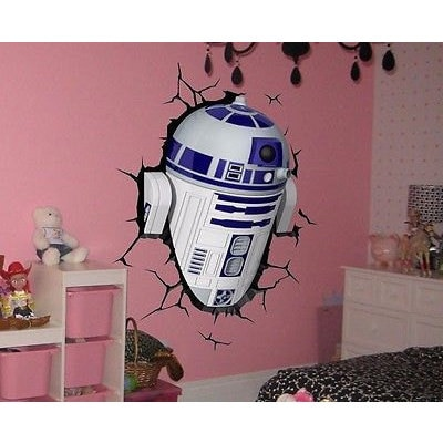 Shop Full Color R2 D2 3d Full Color Decal Star Wars 3d Full Color