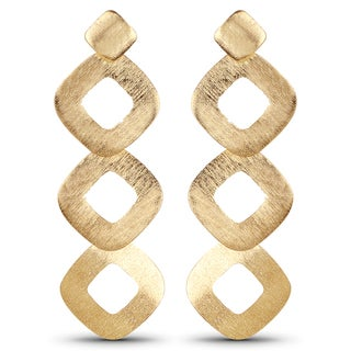 Liliana Bella Women's Contemporary Goldtone Dangle Earrings
