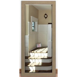 US Made Champagne Colville Beveled Full Body Mirror