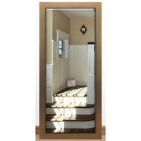 US Made Golden Lowe Beveled Full Body Mirror - Gold